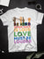 Standard T-shirt - Be kind - Love is Love - Black Lives Matter - Rainbow T-shirt - 2743