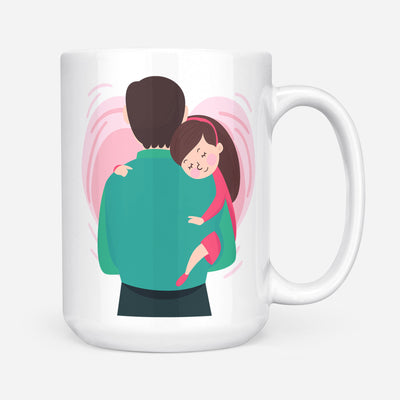 To my daughter coffee mug - Enjoy the ride - Gift for daughter from dad - Birthday Gifts, meaningful gifts - Mug with quotes - 192