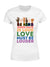 Standard Woman T-shirt - Be kind - Love is Love - Black Lives Matter - Rainbow T-shirt - 6135