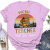 Vintage Teacher - Premium Unisex T-shirt - Gifts For Teacher