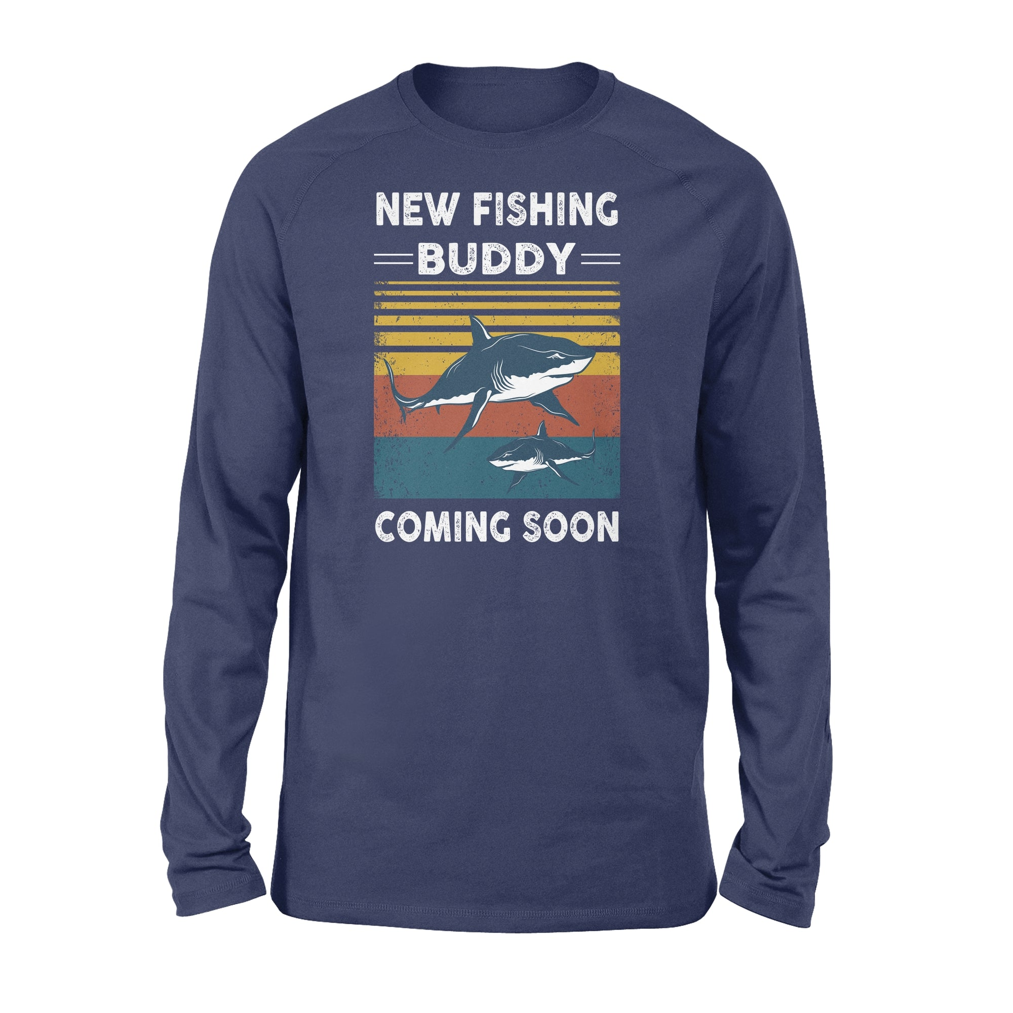 Classic Long Sleeve - New fishing buddy coming soon - Gifts for Dad to be - 1319