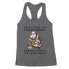 Premium Women's Tank - Dog Reading Books Tshirt - Book lovers T-shirt, Dog Lovers Tshirt - Coffee Lovers Tshirt - 4487