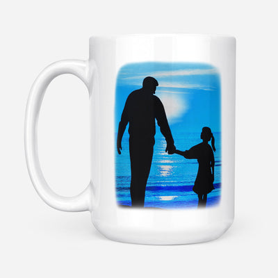 Dad Daughter - Always be your baby girl - Coffee Mug, Gift for Dad, Father Day Gift - 0504