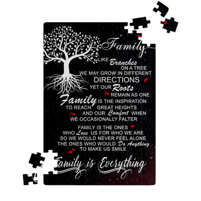 Jigsaw Puzzle - Family Is Everything - Family Puzzle