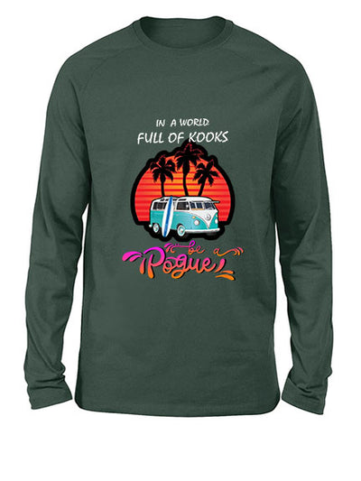 Outer Banks long sleeve shirt - Summer shirt - In a world full of Kooks, Be a Pogue