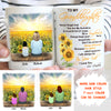 Personalized Custom Coffee Mug, Sunflower Mug - Be A Sunflower, You Are My Sunshine - Gift For GrandDaughter From Grandma, Birthday Gifts - 4456