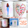Personalized Custom Coffee Mug – She Believed She Could So She Did – Gift For Daughter From Mother, Nurse Mug - 6584