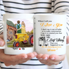 Personalized Custom Coffee Mug – When I Tell You I Love You – Gift For Couple, Farmhouse Couple Mug, Mug With Quotes, Birthday Gifts - 5224