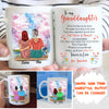 Personalized Custom Coffee Mug – Never Feel That You Are Alone – Gift For Granddaughter, Granddaughter Mug From Grandma, Mug with Quotes - 9560