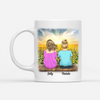 Personalized Custom Coffee Mug - Always Be Your Little Girl - Gift For Mom From Daughter, Sunflower Mug, Mug With Quotes, Birthday Gifts - 2568