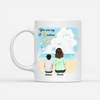 Personalized Custom Coffee Mug - The Best By Far Is You - Gift For Son From Mother, Mug With Quotes, Birthday Gifts - 1224