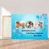 Personalized Custom Canvas - For Mom - Mother's Day Gift, Wall Art With Quotes, Birthday Gifts - 9480