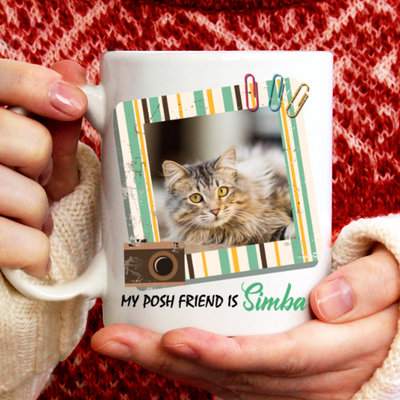 Personalized Custom Coffee Mug - Piss Me Off - Gift For Cat Lovers, Cat Mug, Mug With Quotes, Birthday Gifts - 6231