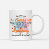 Personalized Custom Coffee Mug – You and I are Sisters – Gift For My Sister, Funny Mug, Birthday Gifts - 7351