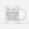 Personalized Custom Coffee Mug - Dad's Always My Best Man - Gift for Dad from Daughter, Mug With Quotes, Birthday Gifts - 1607