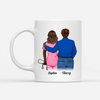 Personalized Custom Coffee Mug - The Best Kind of Dad - Gift For Daughter, Gift For Dad, Nurse Mug - 7320