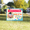 Yard Sign Personalized - We Have You - Newborn Customized Yard Sign - Newborn Cogratulation - 6279