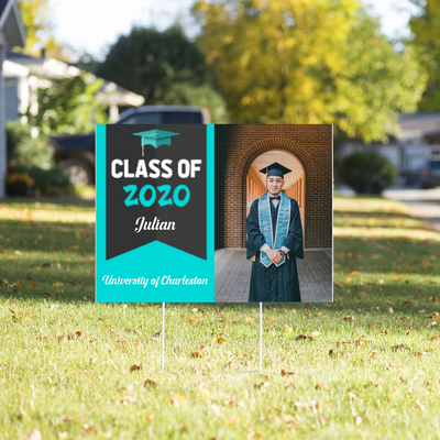 Yard Sign - Class Of 2020 - Graduation Gift, Gift For Daughter, Son, Granddaughter, Senior Gift - 1752