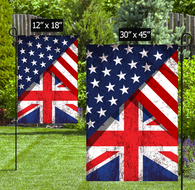 Personalized 4th of July Garden Flag - Independence Day - Custom Flag - Personalized Flag - 5735