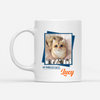 Personalized Custom Cat Coffee Mug - I know I'm just a cat - Gifts for Cat Lovers, Cat Owners - Birthday Gifts, Mug with quote - 4167