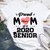 Personalized Custom T-Shirt - Senior 2020 - Proud Mom - 3719