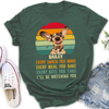Personalized Custom T-Shirt - Every Snack You Make - Forest