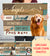 Personalized custom pet canvas - Pet Memorial Gift, Pet Memorial Canvas, Wall Art - 4023