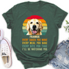 Personalized Custom T-Shirt - Every Snack You Make - Dog Lovers T-shirt - Classic Women's T-shirt - 1783