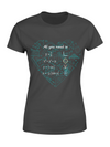 Classic Women's T-shirt - All you need is Love Mathematics equations - Gift for Maths lovers, nerdy gift - 7959