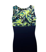 Load image into Gallery viewer, Boys Leotard Singlet Navy & Multi Color - Fliptastic Leos