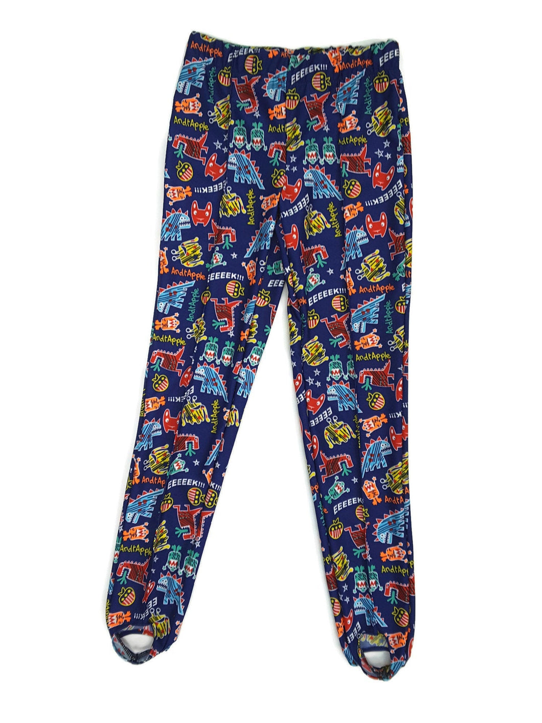 Boys Pommel Stirrup Pants Video Game Monsters - Fliptastic Leos