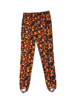 Load image into Gallery viewer, Boys Pommel Stirrup Pants Orange Flames - Fliptastic Leos
