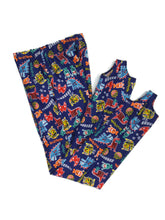Load image into Gallery viewer, Boys Pommel Stirrup Pants Video Game Monsters - Fliptastic Leos