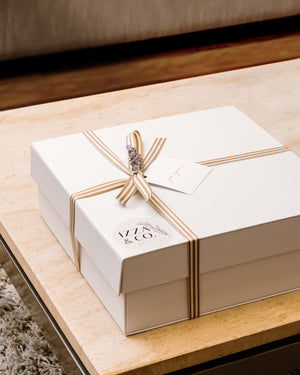 Signature Medium Gift Box | White
