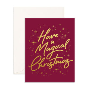 Have A Magical Christmas | Greeting Card
