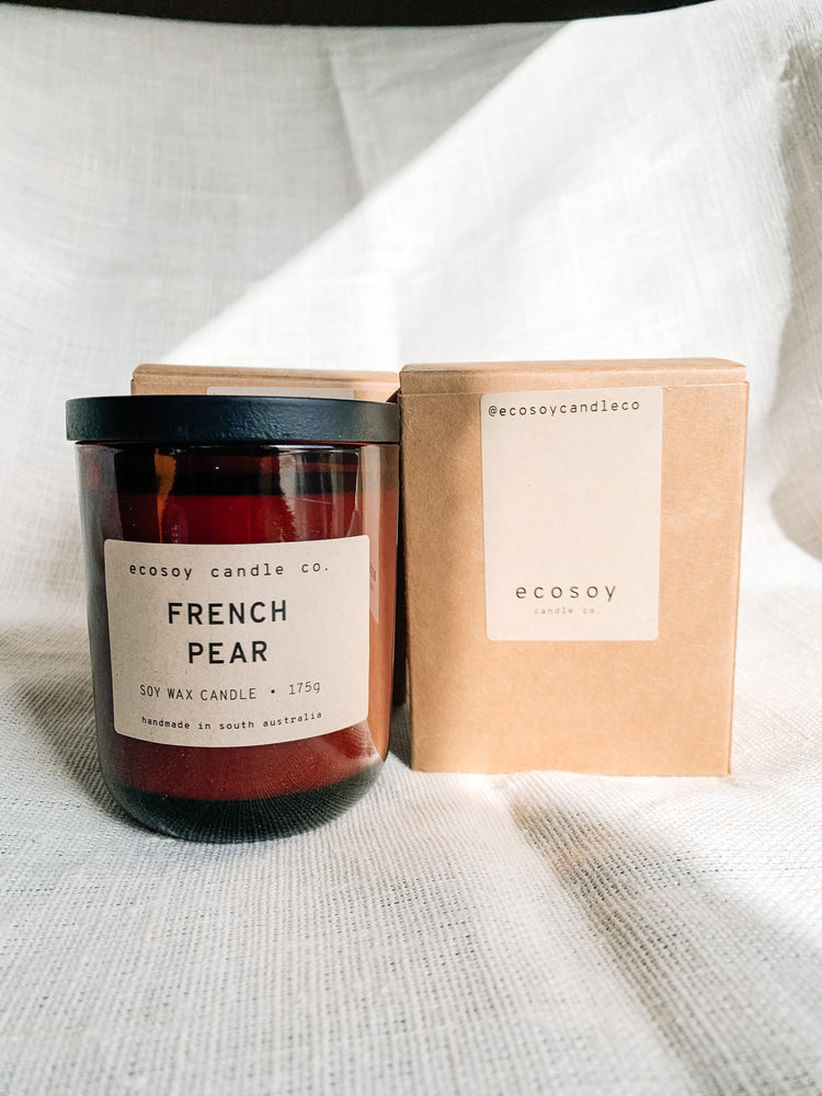 French Pear Soy Wax Candle