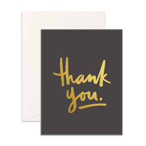 Load image into Gallery viewer, Thank You | Greeting Card