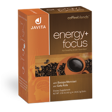 Load image into Gallery viewer, Javita energy + focus coffee box, 24 Rip stick that Improved focus and enhanced energy in every delicious cup!