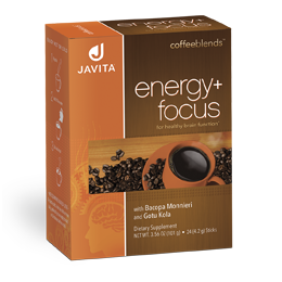Javita energy + focus coffee box, 24 Rip stick that Improved focus and enhanced energy in every delicious cup!