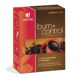Javita burn + control coffee box, 24 Rip stick with slimming benefits and appetite control in every delicious cup!
