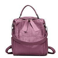 New stylish all-match stitching soft travel backpack shoulder bag