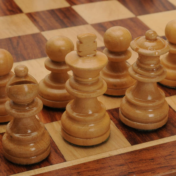 Wood Magnetic Folding Chess Set - 11.75 Inch