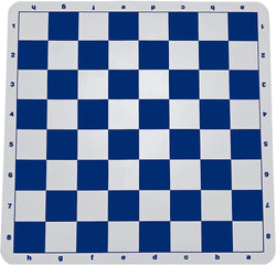 Ultimate Tournament Chess Board - Silicone with Blue Squares