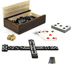 10-in-1 Combination Set - Dominoes and More!