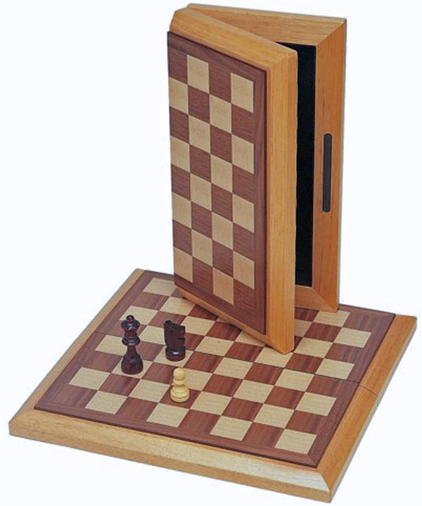Classic Folding Chess Set - Wood Board 10.75 in.