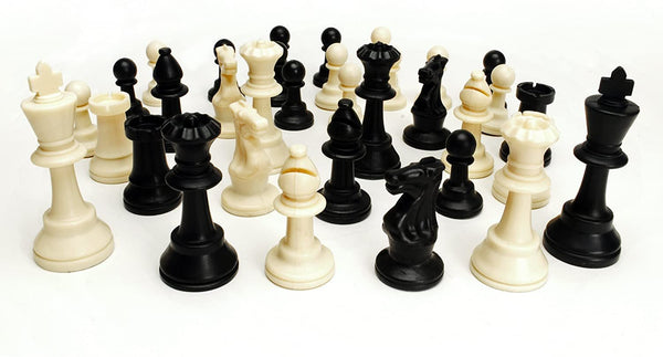 Ultimate Compact Tournament Chess Set with Green Fold-up Board & Triple Weighted Pieces