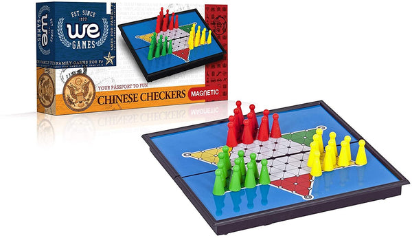 Magnetic Chinese Checkers - 10 inch