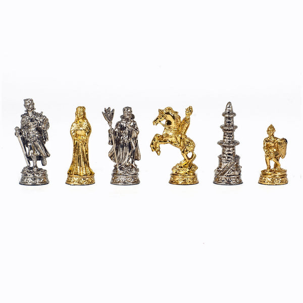 Medieval Chessmen - Pewter with 2.75 in. King