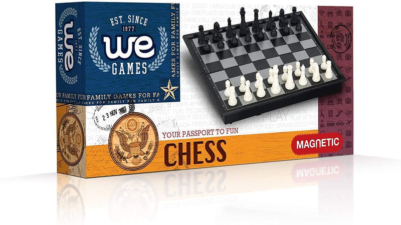Magnetic Chess Set - 10 inches