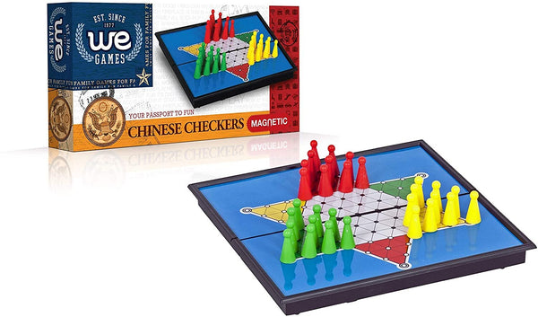 Magnetic Chinese Checkers - 8 inches